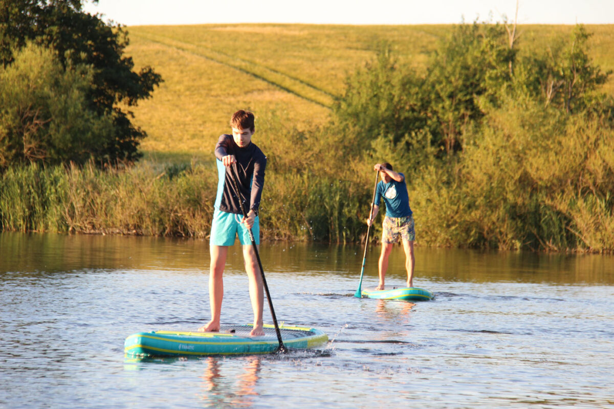 SUP Poggensee Bad Oldesloe Verleih Kurse Mieten Stand Up Paddeling Schnupperkurs Anfängerkurs erlaubt