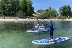 Stand Up Paddle Tour Ausflug auf der Ostsee buchen