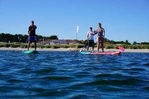 Stand Up Paddle Verleih Kurse Anfängerkurse Preise Vermietung Stand up Paddeling Schnupperkurs Camping Miramar